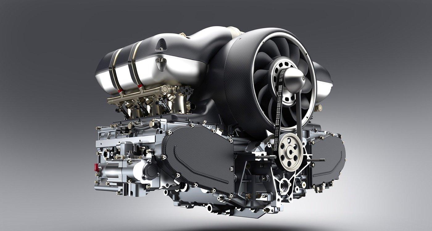 porsche 911 partenariat singer vehicle design williams engineering hans mezger 01