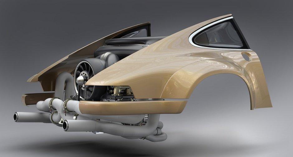 porsche 911 partenariat singer vehicle design williams engineering hans mezger 10