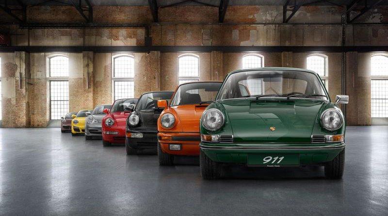 Porsche 911 générations