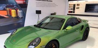 Porsche 911 Turbo S vert Python