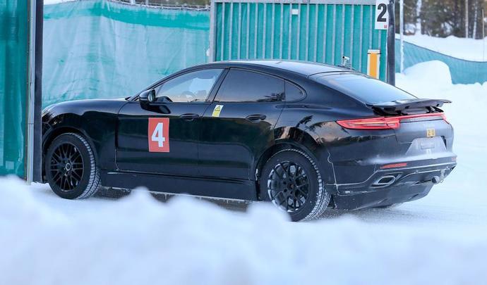 Porsche Concr 233 Tisera T Elle Le Cayenne Coup 233 Y A T Il Un
