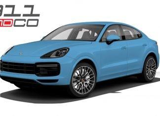 Porsche Cayenne coupé 2018