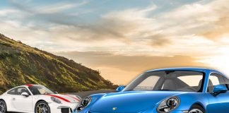 Comparatif Porsche 911 R - Porsche 911 GT3 Touring