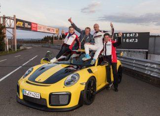 Porsche 911 GT2 RS record tour Nürburgring