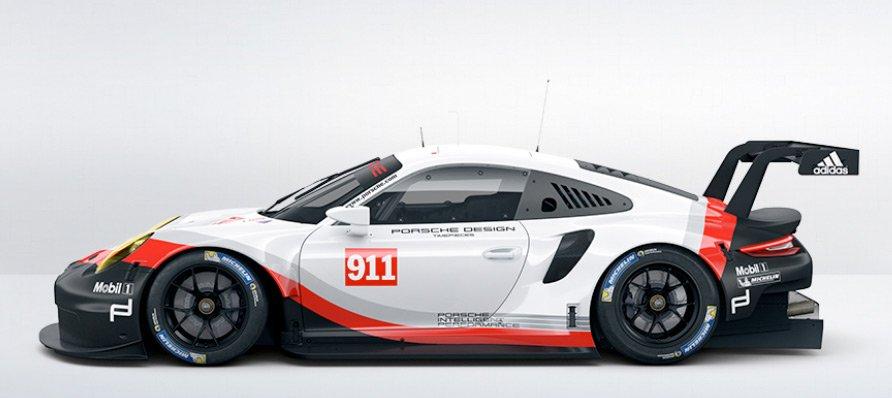 Porsche 911 (991) RSR 2018
