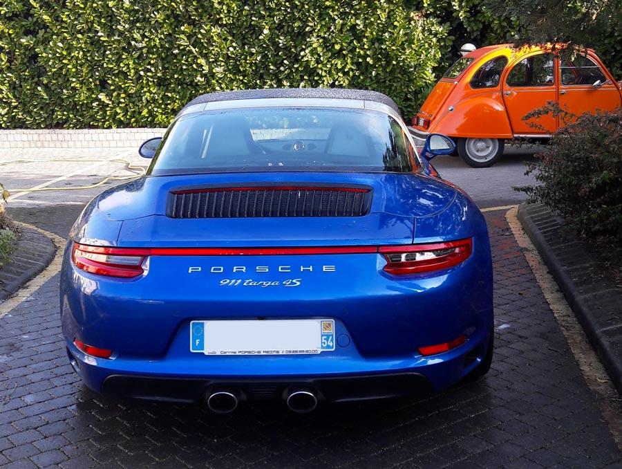 Porsche 911 991 2016 Targa 4S Bleu Saphir 01