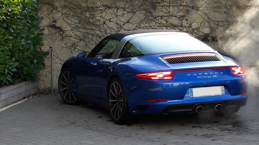 Porsche 911 991 2016 Targa 4S Bleu Saphir 02