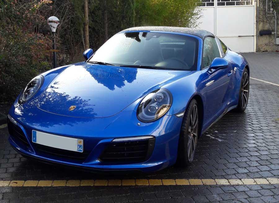 Porsche 911 991 2016 Targa 4S Bleu Saphir 04