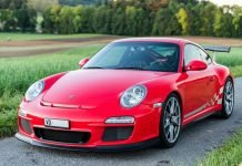 Porsche 911 997 2 GT2 RS 2010 Rouge indien red guards indishrot 02