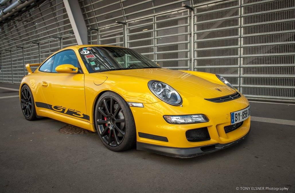 Porsche 911 997 GT3 2007 jaune vitesse speed gelb yellow 01