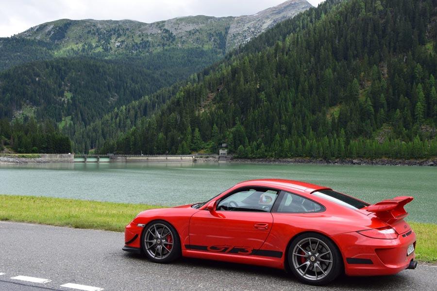 Porsche 911 997 GT3 ClubSport 2010 rouge indien 01