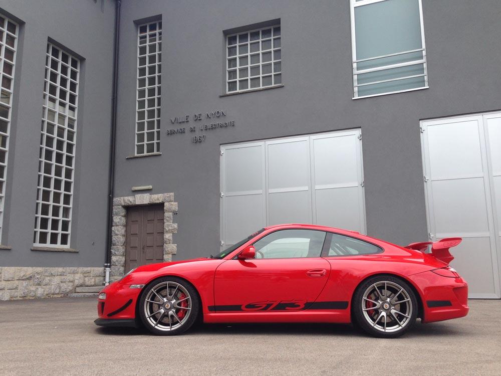 Porsche 911 997 GT3 ClubSport 2010 rouge indien 03