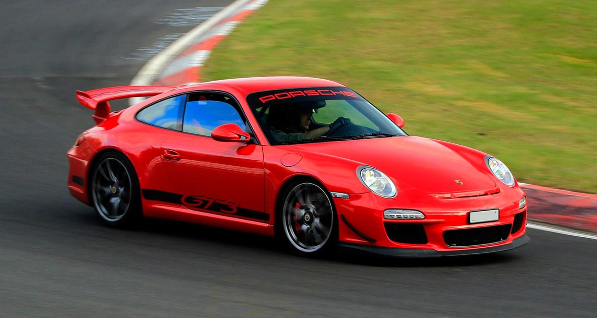 Porsche 911 997 GT3 ClubSport 2010 rouge indien 04