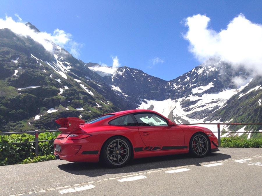 Porsche 911 997 GT3 ClubSport 2010 rouge indien 05