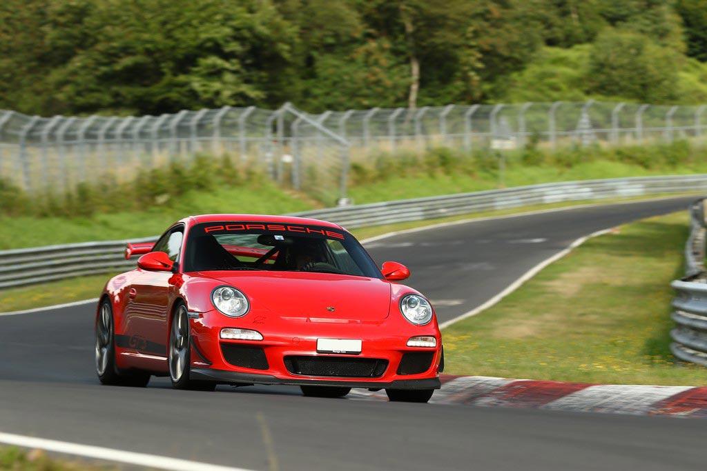 Porsche 911 997 GT3 ClubSport 2010 rouge indien 06
