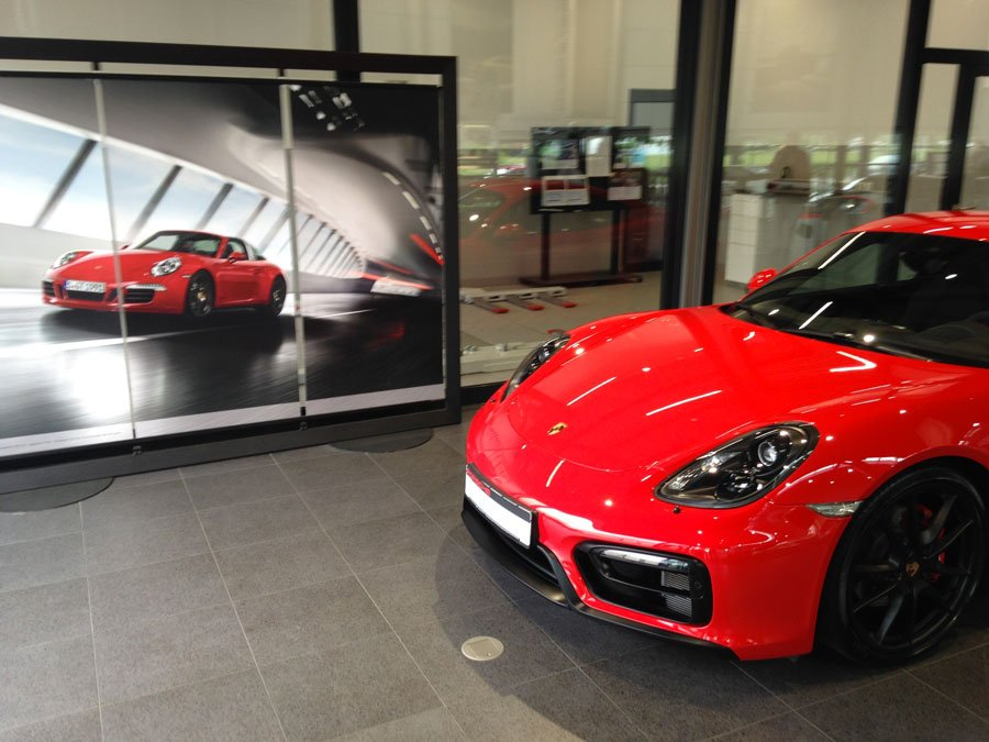 Porsche Cayman GTS 981 2015 rouge indien indishrot red guards 07