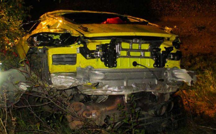 Porsche Cayman GT4 Accident 03