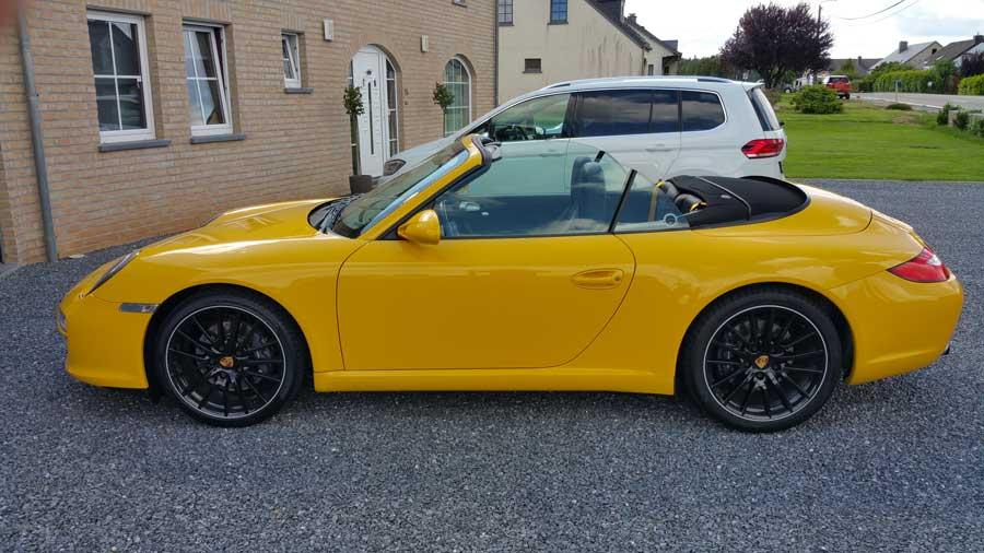 porsche 911 997 Carrera 2011 jaune vitesse speed gelb yellow 01