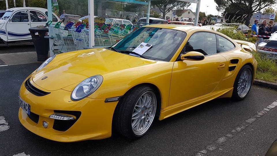 porsche 911 997 turbo speedart btr xl 600 jaune vitesse speed yellow gelb 03