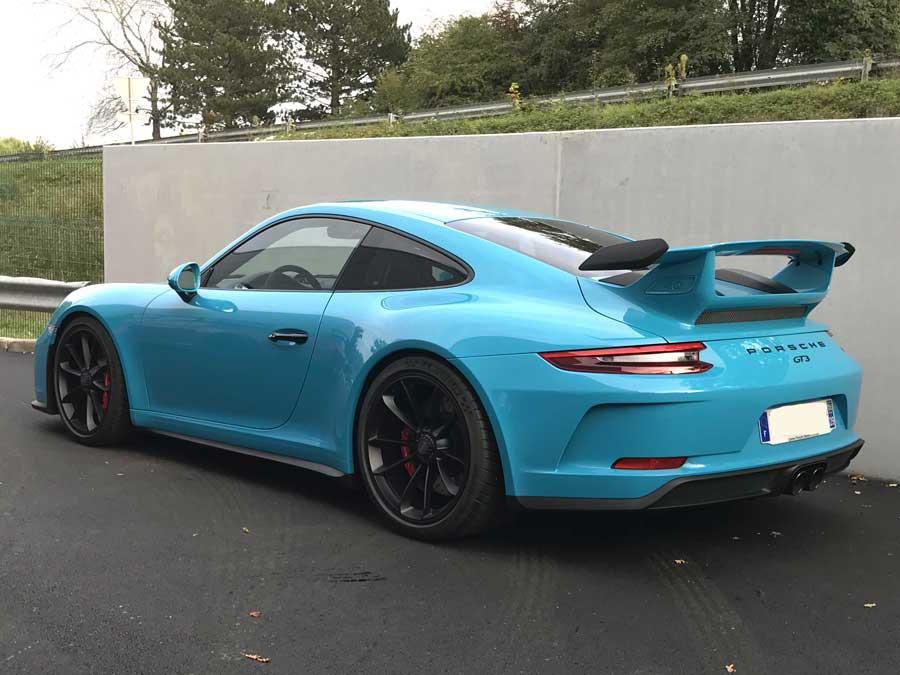 porsche 911 gt3 bleu miami 2017 02 911andco