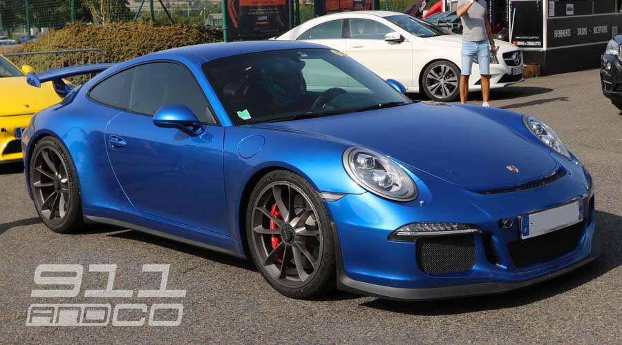 Porsche 911 GT3 Bleu saphir Porsche Days 2017 02