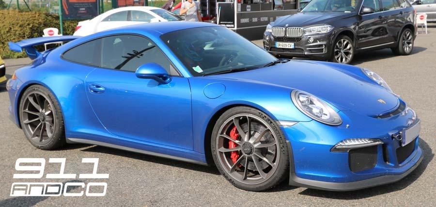 Porsche 911 GT3 Bleu saphir Porsche Days 2017 03