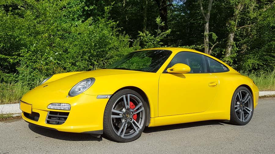 porsche 997 4s X51 2009 jaune vitesse speed gelb yellow 02