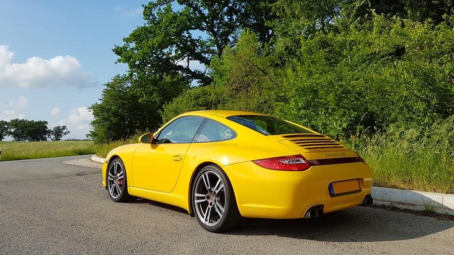 porsche 997 4s X51 2009 jaune vitesse speed gelb yellow 03