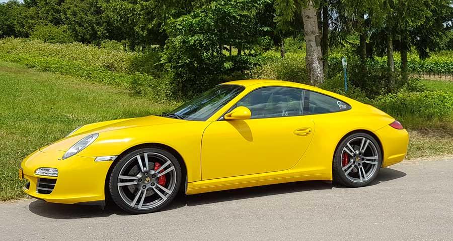 porsche 997 4s X51 2009 jaune vitesse speed gelb yellow 04