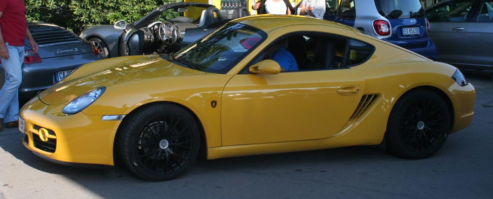 porsche cayman 987 2l7 2006 jaune vitesse-03