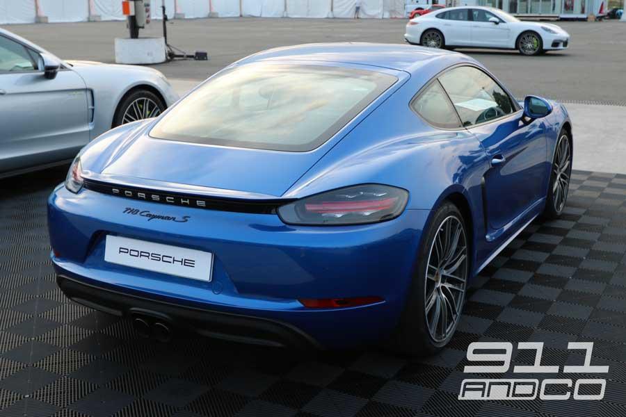 porsche cayman S Bleu saphir Porsche days 2017 911andco 02