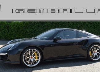 preparation gemballa porsche 911Turbo S 2017 05