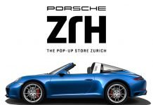 porsche pop-up store Zürich