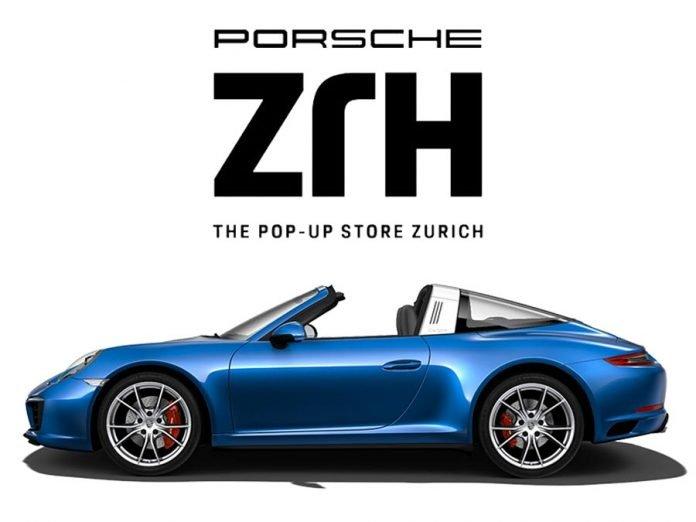 porsche pop-up store Zürich