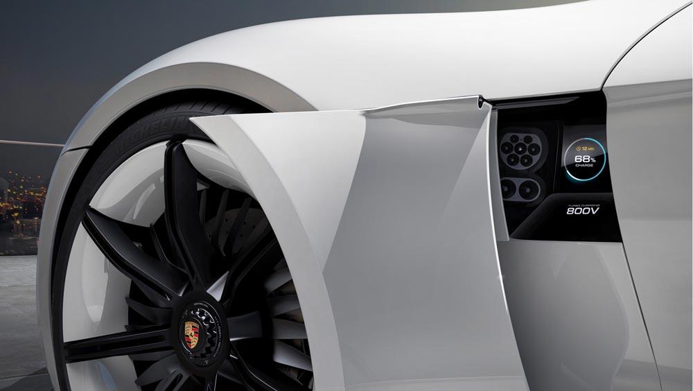 Porsche Mission E & ionity réseau européen stations charges véhicules électriques