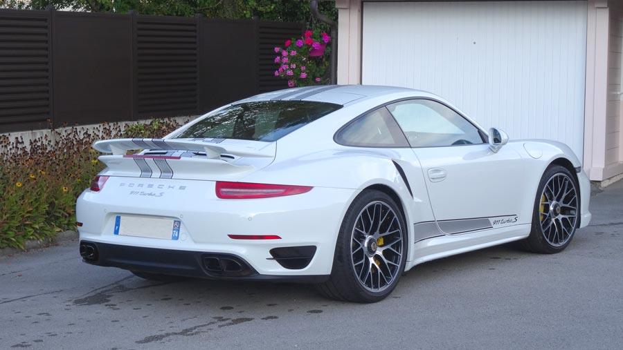 porsche 911 991 turbo s 2015 blanc carrara 02r