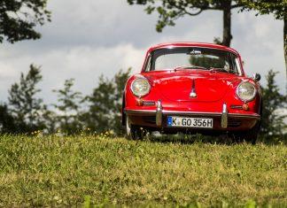 Porsche 356 vol voiture