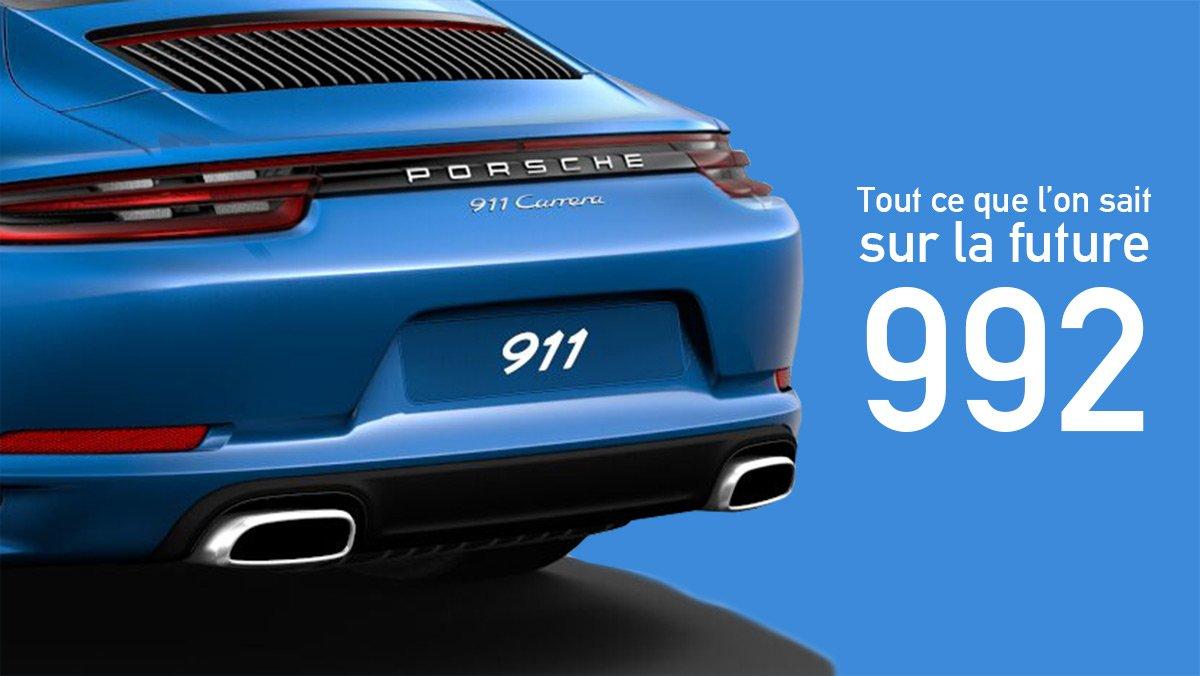 Porsche 992 Tout Savoir Sur La Future 911 911andco