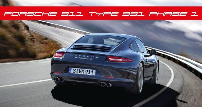 cote porsche 911 Type 991 MK1 Phase 1