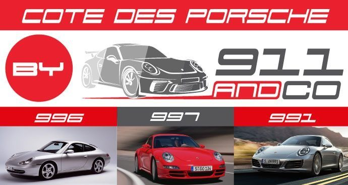 cote porsche 911 Type 996 997 991