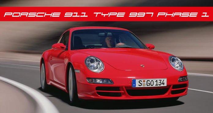 cote porsche 911 Type 997 MK1 Phase 1