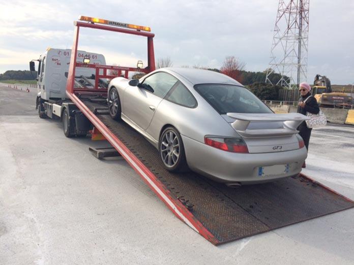 depannage porsche 911 996 gt3