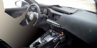 Intérieur Porsche 992