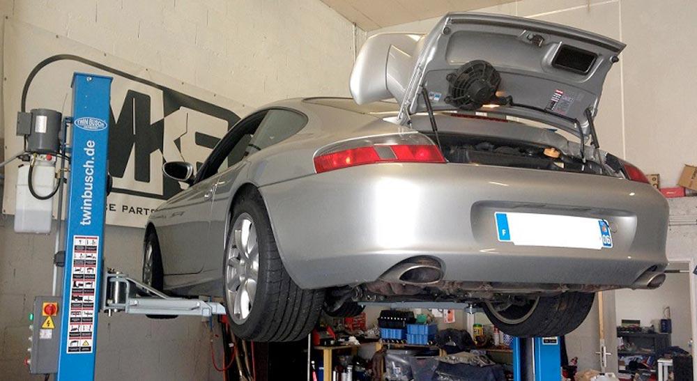 porsche 911 996 Mk6 GT3 Pont