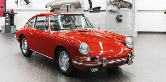 Porsche 901 restauration