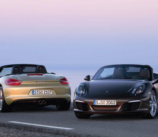 Porsche Boxster générations 986 987 981 982
