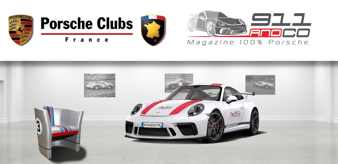 signature partenariat 911andco fédération porsche club france