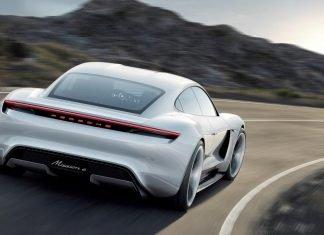 Porsche Mission E voiture sport electrique