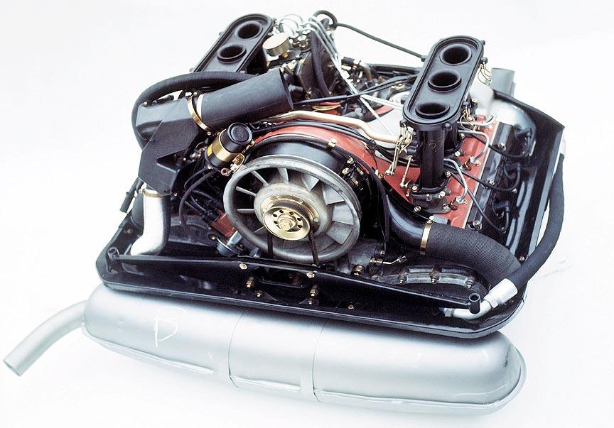 moeur injection Porsche 911 2.0l