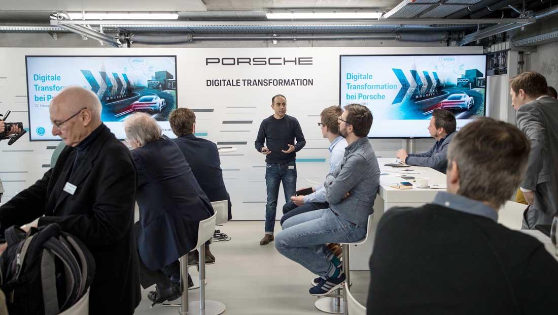porsche blockchain digital-transformation